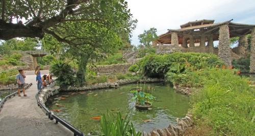 koi garden japanese tea house brackenridge park san antonio sunken gardens