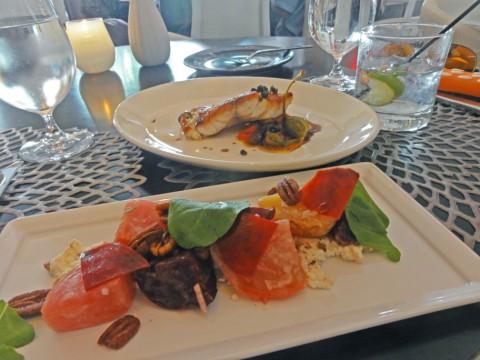 trace restaurant w hotel austin beat salad