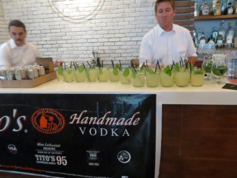 tito's vodka white mule bonneville austin white linen party