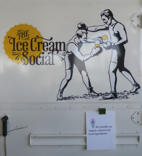 austin ice cream social food truck