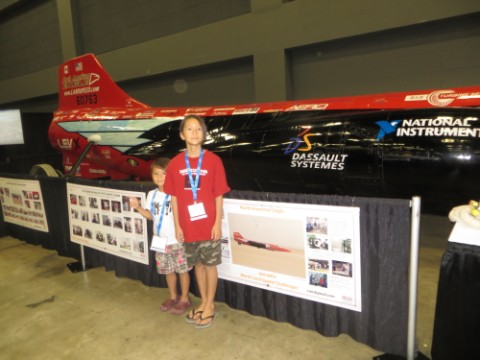 jet car land speed record NIWeek austin