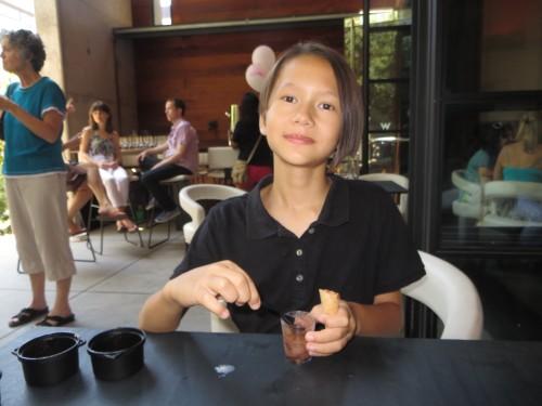 trace austin w hotel ice cream social