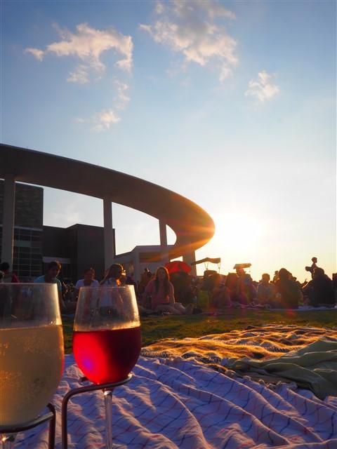 long center sunset symphony summer picnic
