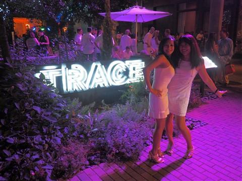 TRACE Austin W Hotel VIP party White Linen