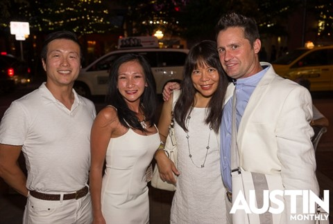 austin monthly white linen event