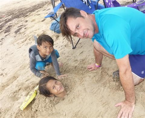 south padre island sand