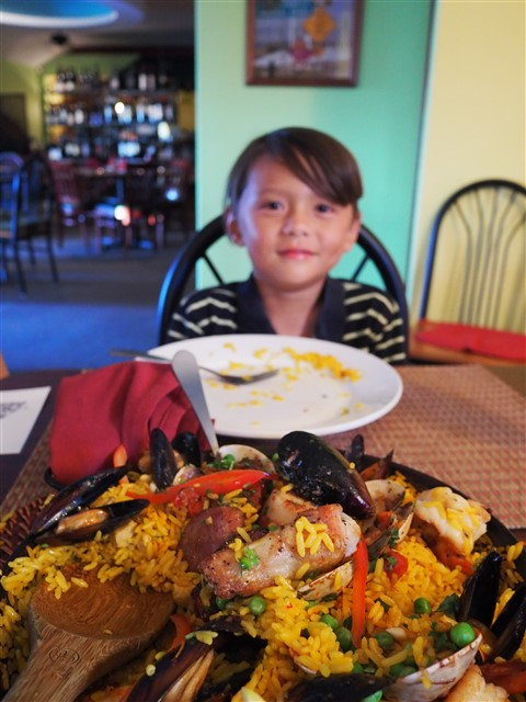 sunday paella south padre island cafe kranzler