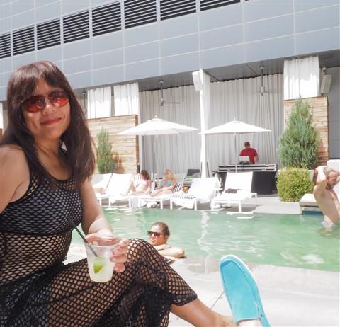 w hotel pool austin