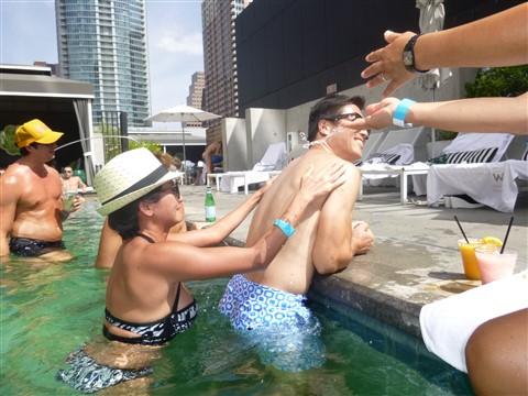 w hotel austin pool party