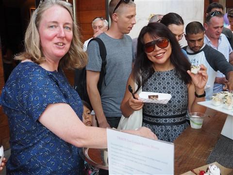 w hotel austin chef trace ice cream social