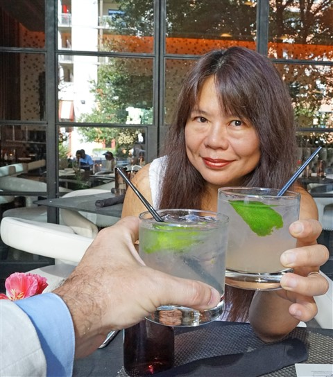 Happy Hour $5 Tito's cocktails 5-7 TRACE W Hotel