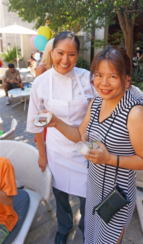 W Hotel Pastry Chef Angel Begaye Ice Cream Social Trace