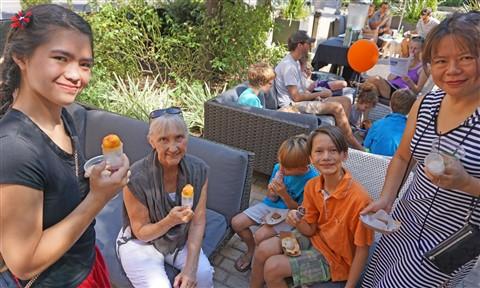 ice cream social TRACE W Hotel austin 2015
