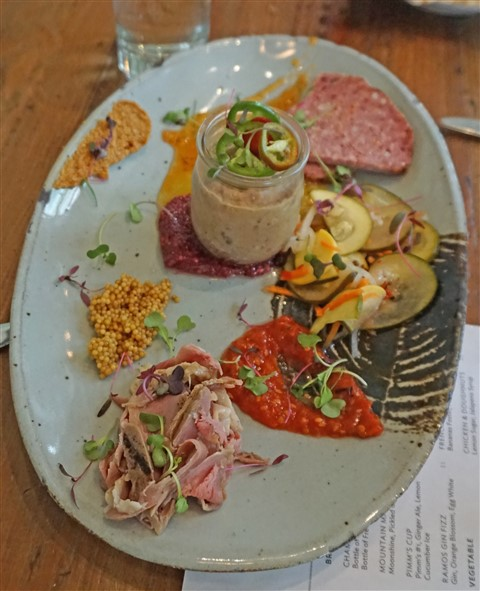 charcuterie at cured san antonio pearl