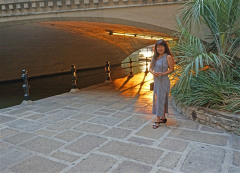 golden hour san antonio riverwalk