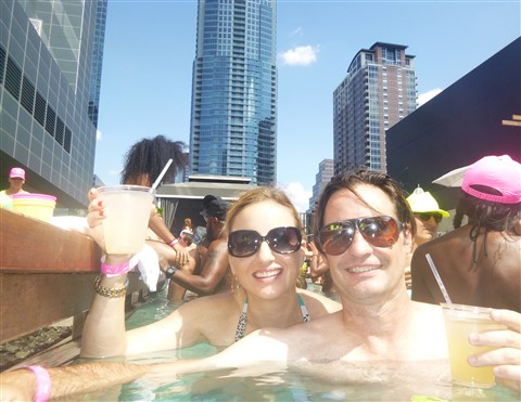 w hotel shock wave wet deck austin pool party
