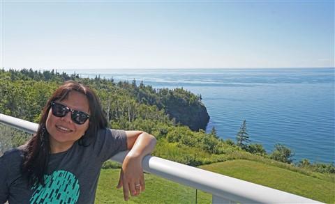 cliffside balcony digby nova scotia