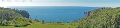 panorama cliffside digby nov scotia
