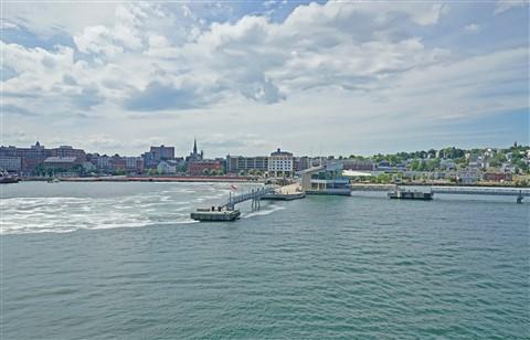 portland maine ferry departure