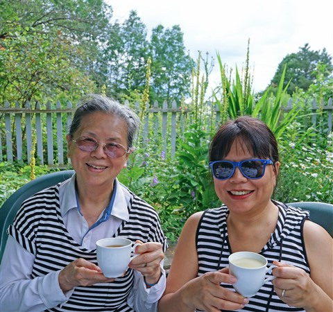 east hardwick vermont tea garden