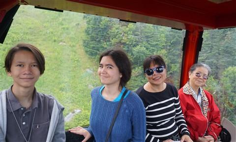 stowe gondola summer
