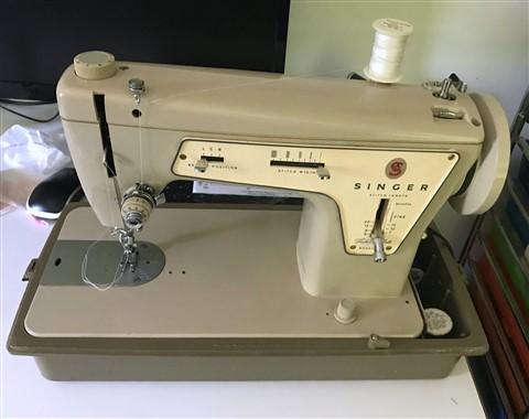 vintage drinkwater singer sewing machine danville vermont