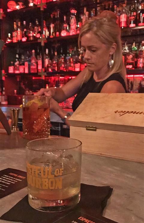 fistful of bourbon smash Charlotte Voisey #fistfulofbourbon