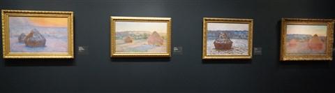 monet haystack chicago art museum