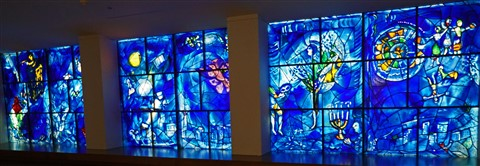 marc chagall stained glass chicago art museum