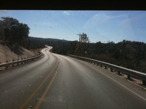 hill country fall drive