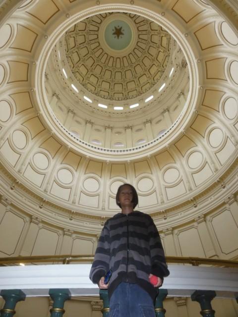 texas state capitol rotunda ceiling