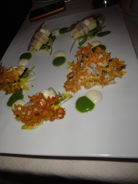 deconstructed caesar salad from carillon at&t conference center austin