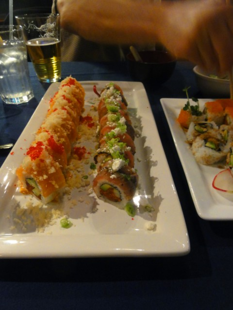 afin modern japanese tapas and sushi happy hour