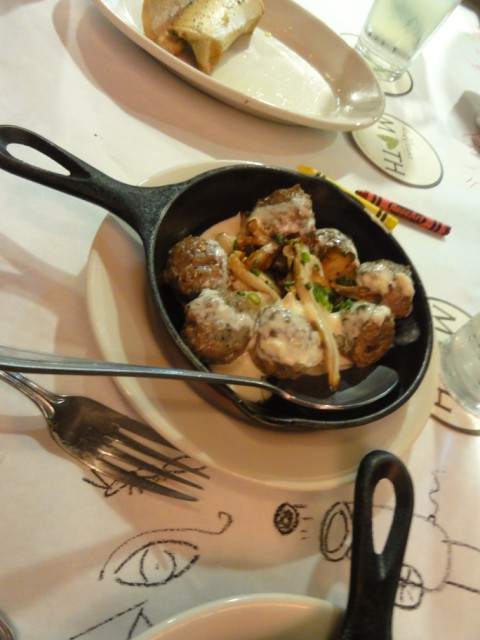 fennel meat balls at meddlesome moth