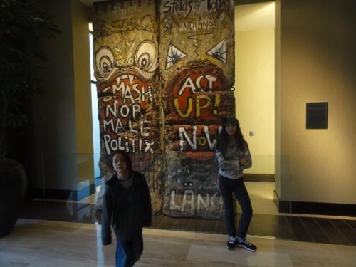 berlin wall sections at dallas anatole hotel