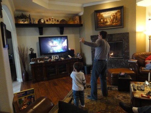 burning christmas calories with the kinect