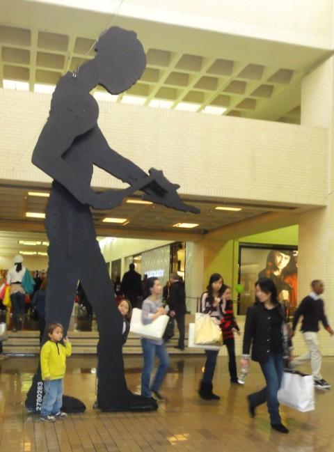 Jonathan Borofsky (American, born 1942) northpark mall dallas