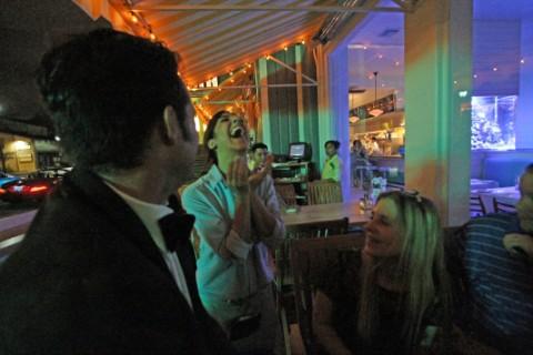 clark's waitress laugh austin oyster bar