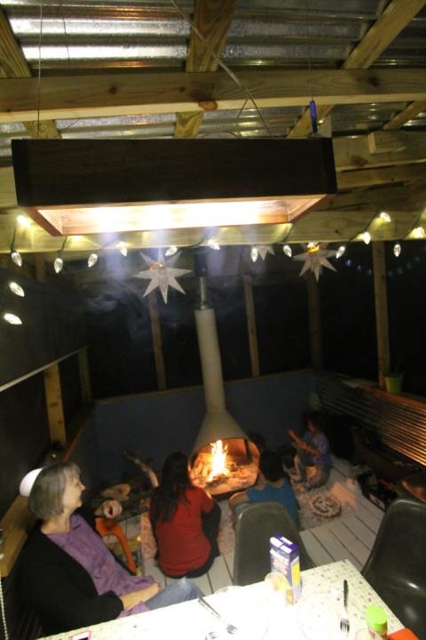 LED dining room light 12 volt off grid