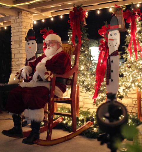 santa wimberley winter's eve