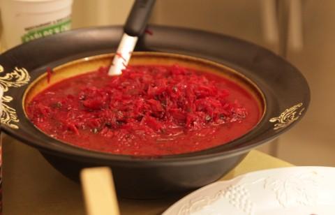 borscht is good for winter