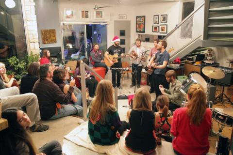 quiet company austin house show 2012