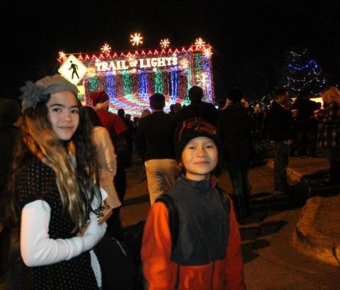 austin trail of lights christmas in zilker park