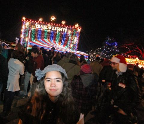 austin trail of lights zilker park christmas