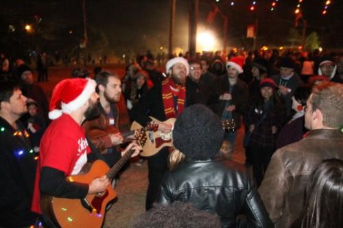 quiet company austin pop rock band zilker tree winter 2012