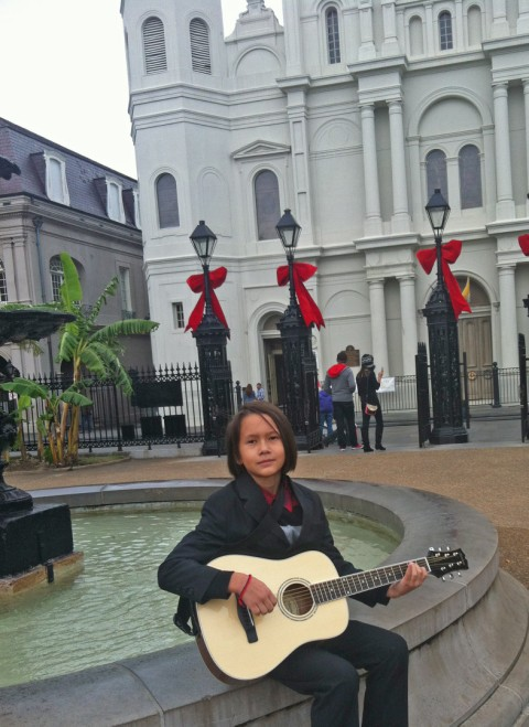 jackson square new orleans louisiana street musician