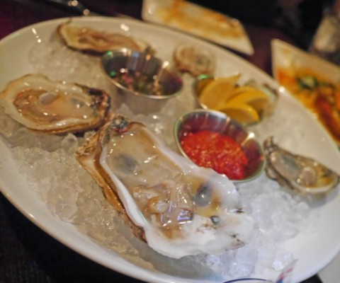 raw gulf oysters on the half shell tapasitas happy hour austin