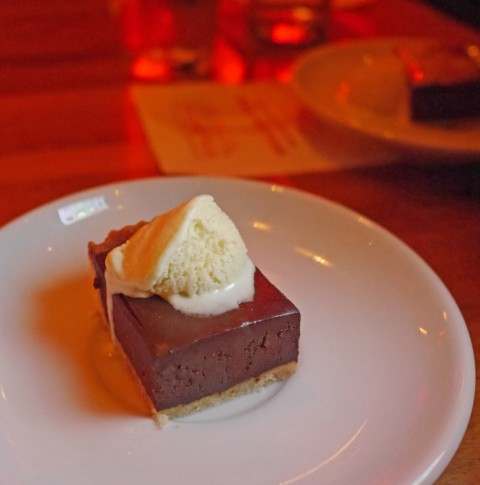 chili chocolate dessert mulberry wine bar gastropub austin