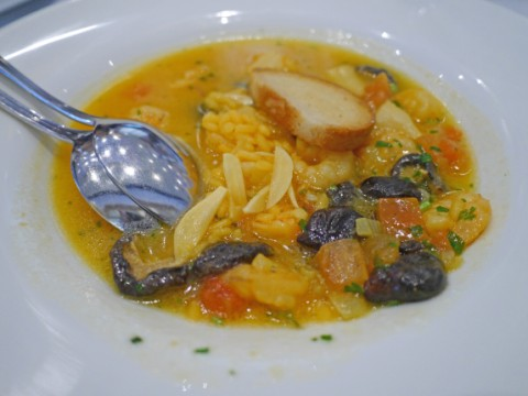 Traditional Sardinian Seafood Soup pomodoro dallas