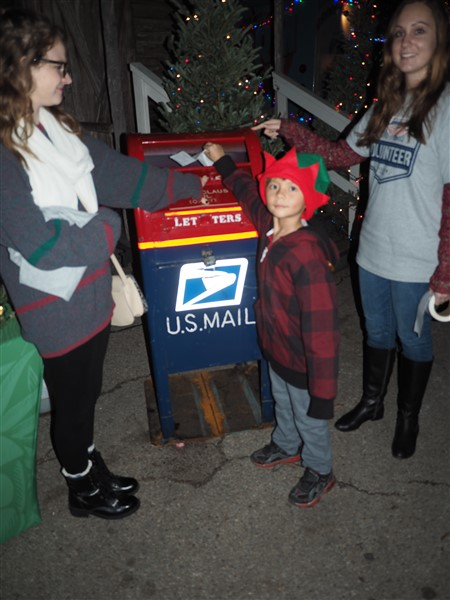 austin trail of lights letter to santa 2014